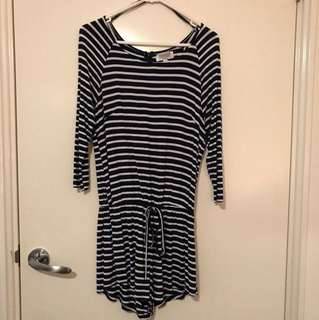 Shareen collections stripe playsuit