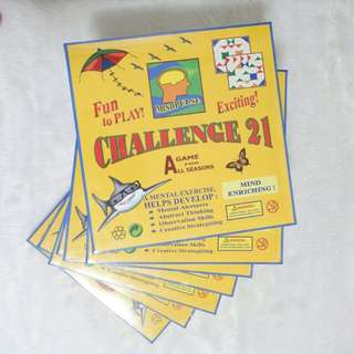 Challenge 21 Board Game
