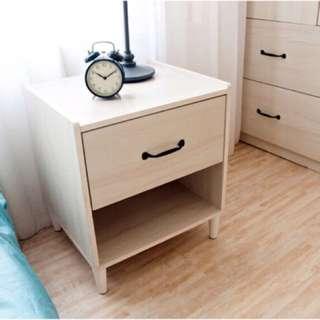 全新單抽床頭櫃/斗櫃/收納櫃