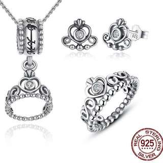 Pandora jewelry set Princess