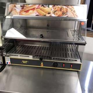 Roller Grill Heated Display Case