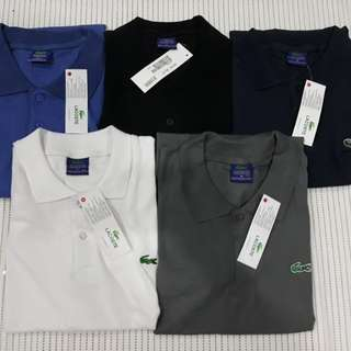 Lacoste and levis polo shirt