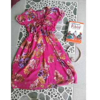 REPRICED! NATASIA FLORAL DRESS