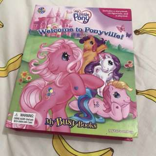 My busy books little pony