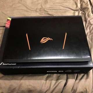 """Asus ROG Strix GL502VT 15.6"""" 4K Gaming Notebook"""