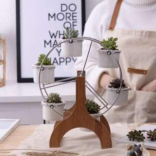 Ferris Wheel Mini Pots for Plants