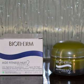 Biotherm Age Fitness Nuit Power 2 (Recharging an Renewing Night Treatment)