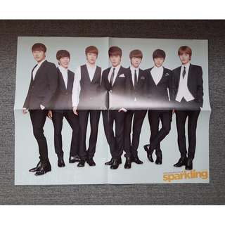 Infinite and EXO - Sparkling Magazine poster