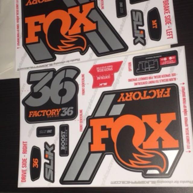 2018 Fox 36