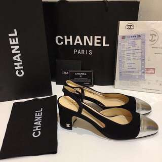 READY CHANEL LOW HEELS (BEST SELLER) MIRROR 1:1 AUTHENTIC