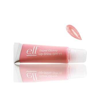 [CLEARANCE SALE!] Free Courier - E.L.F MAkeup Basic Peachy Pink Glossy Shine Lip Balm / Gloss