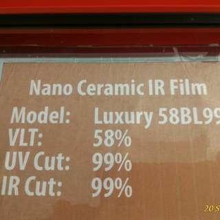 Luxury IR 99% Tint Film