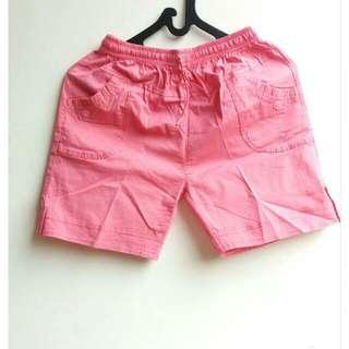 Mini Short Pants Pink