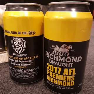 Richmond Tigers premiership Limited Edition (unopened and sealed)