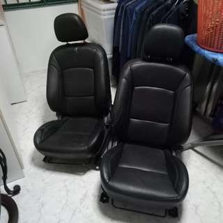 Lancer EX Stock Seats With Rail