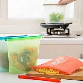 矽膠食物保鮮密封袋
