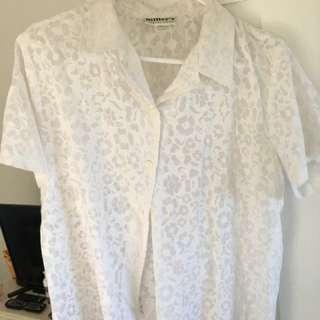 Vintage White Millers Shirt