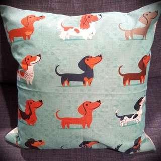 Dachshund Pillow Case Cushion Cover