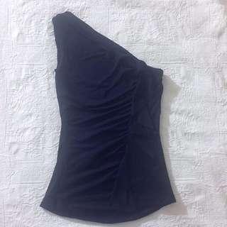 KOOKAÏ One-shoulder Ruffle top