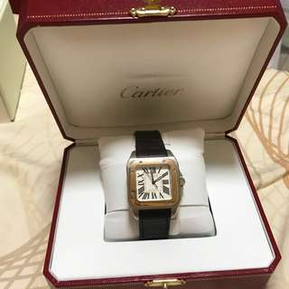 Cartier Santos Watch Original