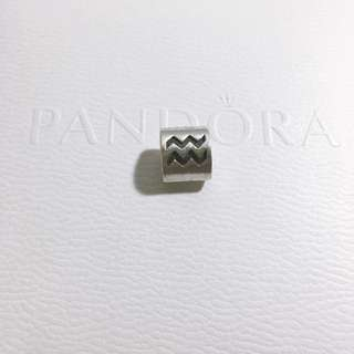 Authentic Pandora Charm - Aquarius