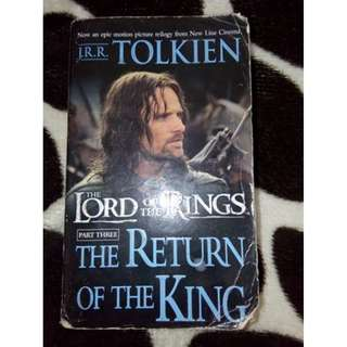 Lord of the rings ( The return of the king) Part 3