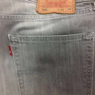 Preowned LEVIS jeans (gray)