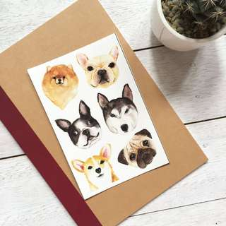 Dog- Sticker Set