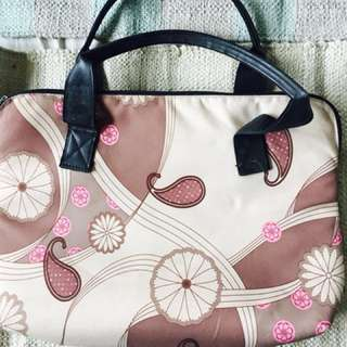 "13"" floral printed Laptop bag"