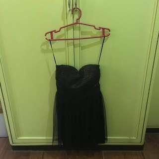 Glitter Tube Dress