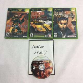 XBOX PS2 CONSOLE GAMES