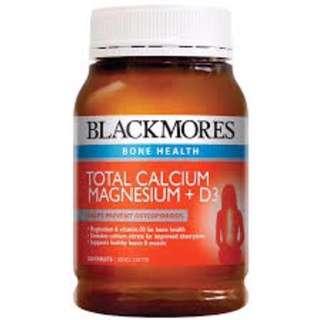 New! 🇦🇺 Blackmores Total Calcium & Magnesium + D3活性鈣片D3+鎂配方👍🏻 200 tablets