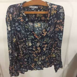 MNG Floral Top