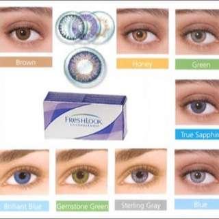 Freshlook lense