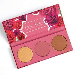 Colourpop Fem Rose Collection HER Face Palette