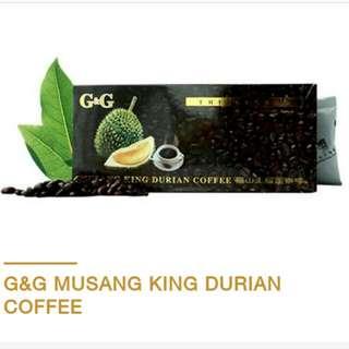 馬來西亞特產 貓山王榴槤咖啡 現貨