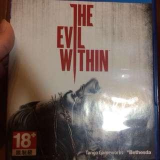 Ps4 邪靈入侵(中文版)the evil within