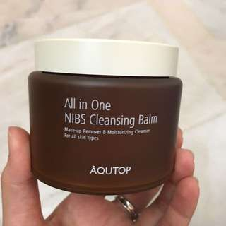 Aqutop Korea make up remover cleansing balm