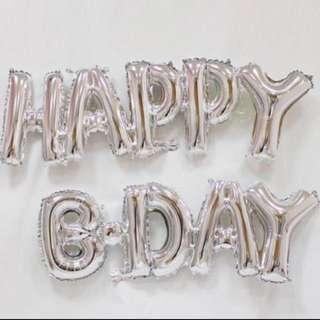 Happy bday balloon