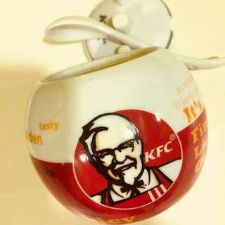 KFC Ceramic Spice/Salt Jars
