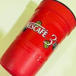Nescafe Plastic Glass