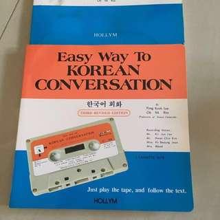 Korean Conversation Tape
