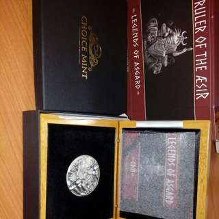 Silver coin collectible