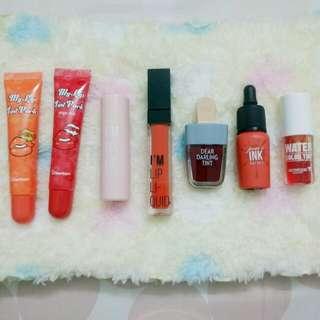 Preloved & New Lipstick, Lip Tint and Lip Tattoo