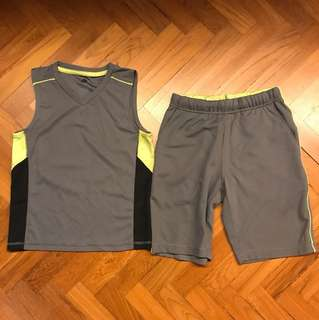 G.U. Boy sports set (size120)