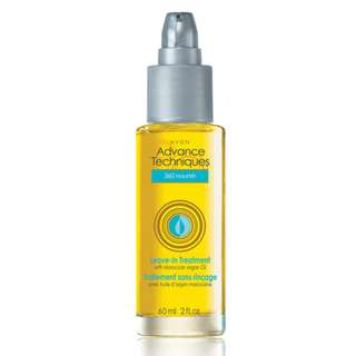 Advance Techniques 360 Nourish Leave-in Treatment with Moroccan Argan Oil