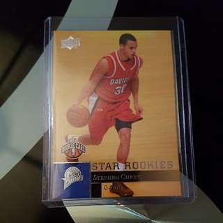 09-10 Upper Deck Stephen Curry #234 RC Mint