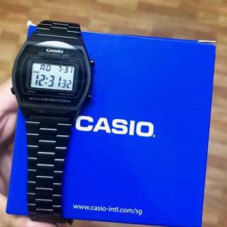 Matte black casio
