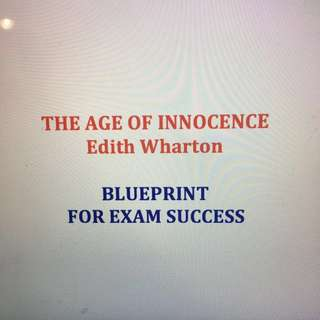 The Age Of Innocence 👀 Study and Revision Guide