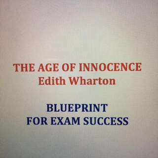 The Age of Innocence 👀 Revision & Study Guide